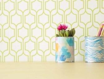 DIY : comment transformer vos boîtes de conserve vides en jolis pots de fleur
