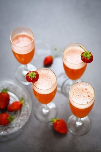 Le cocktail rossini