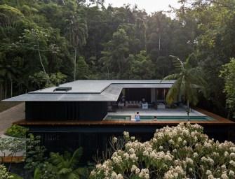 Superbe villa sur la côte de Sao Paulo par Jacobsen Arquitetura