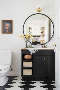 Des idées deco pour votre petite salle de bain (16)
