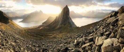 ©Vincent Chen, 'Segla Mountain at Sunrise'