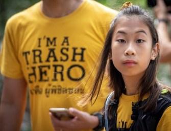 Lilly, la petite Thaïlandaise fait la » guerre » au plastique