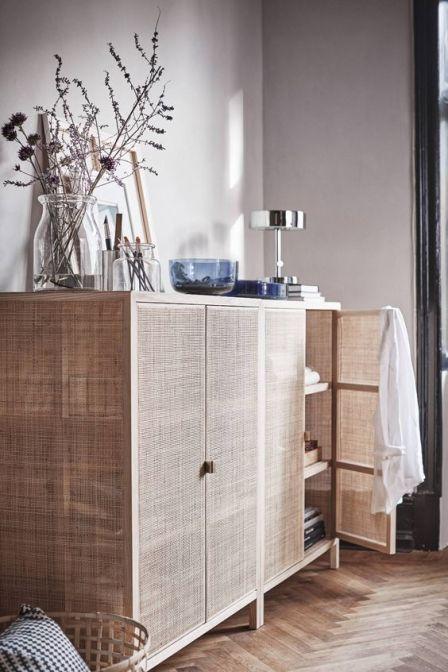 Les meubles en rotin, bambou tissés (19)