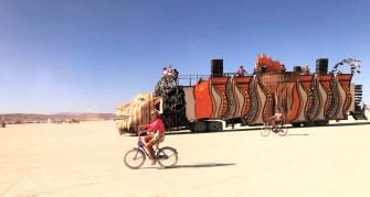 30 photos incroyables du festival Burning Man 2019