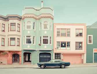 Des photos de rêve capturent les rues charmantes et colorées de San Francisco