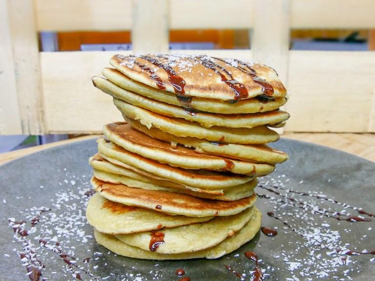 Pancakes-au-lait-de-coco