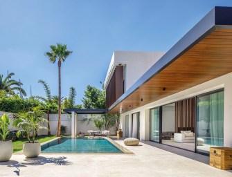Une villa située dans un Oasis de Casablanca