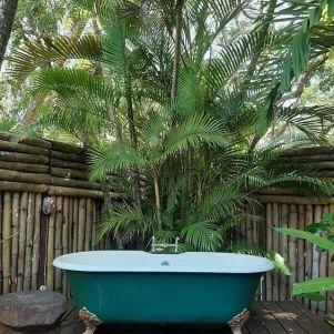 Une baignoire extérieure (4)