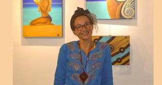 Vali, une artiste peintre à l'imagination débordante