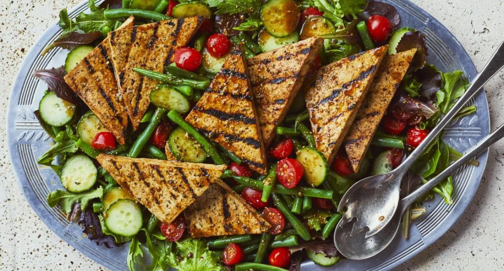 salade de Tofu grillé