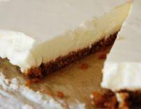 Tarte au fromage blanc et spéculoos