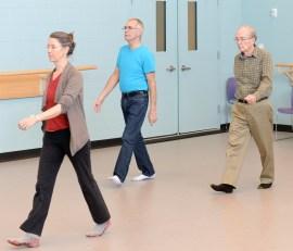 Parkinsons walking