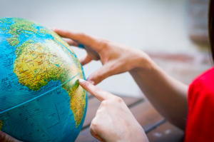 moving abroad globe