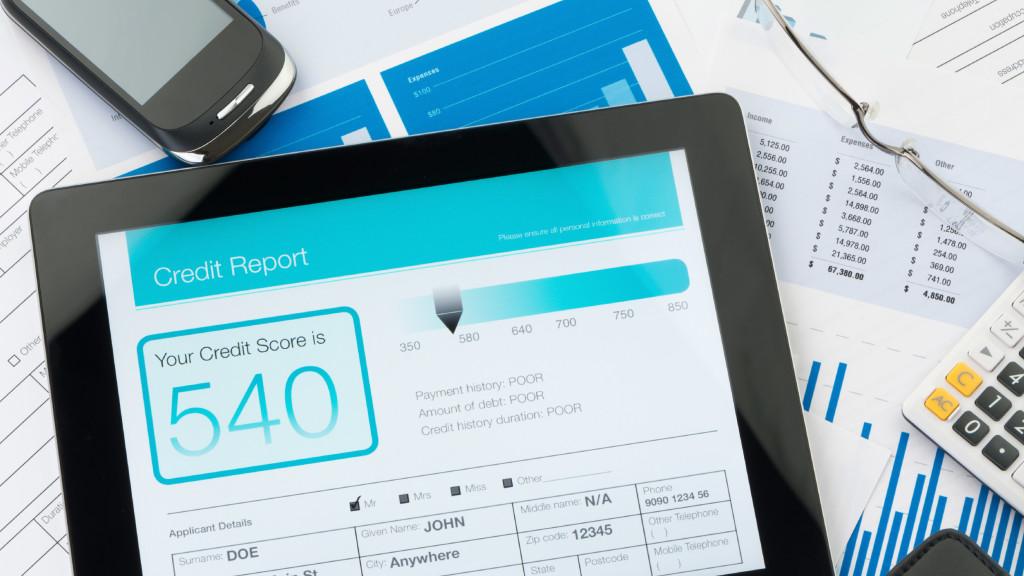 low credit score tablet