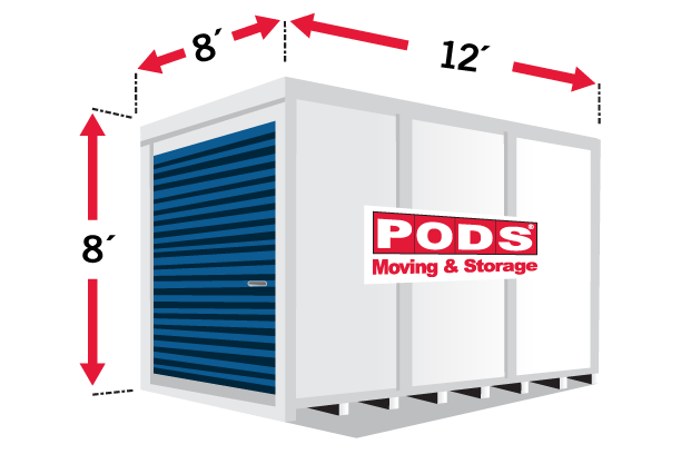 Renting A Pod For Storage : What you should know before renting a moving container