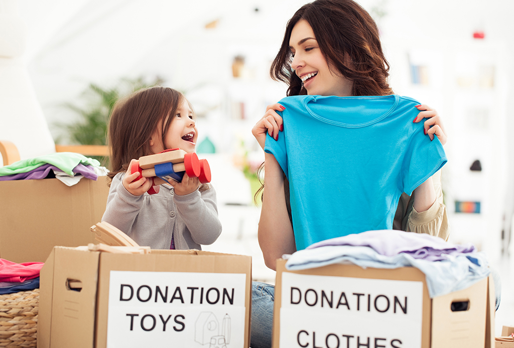 donation toys and clothes
