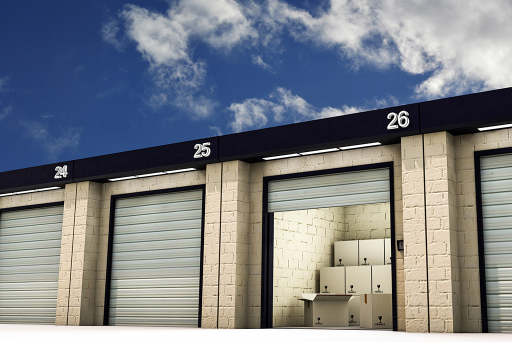 storage units numbered