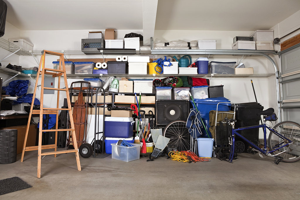 packing up your garage