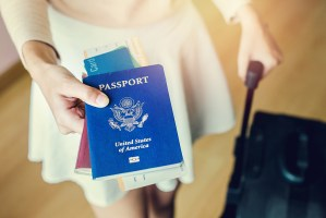 international travel with passport