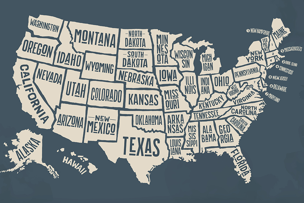 Here are the Nicknames for Residents of each State