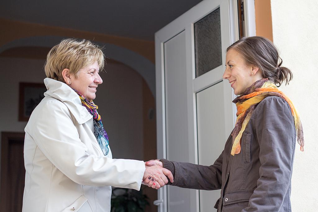 meeting neighbors