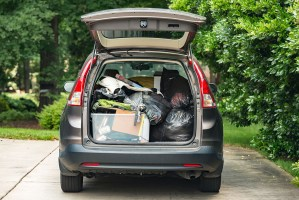 moving packing car