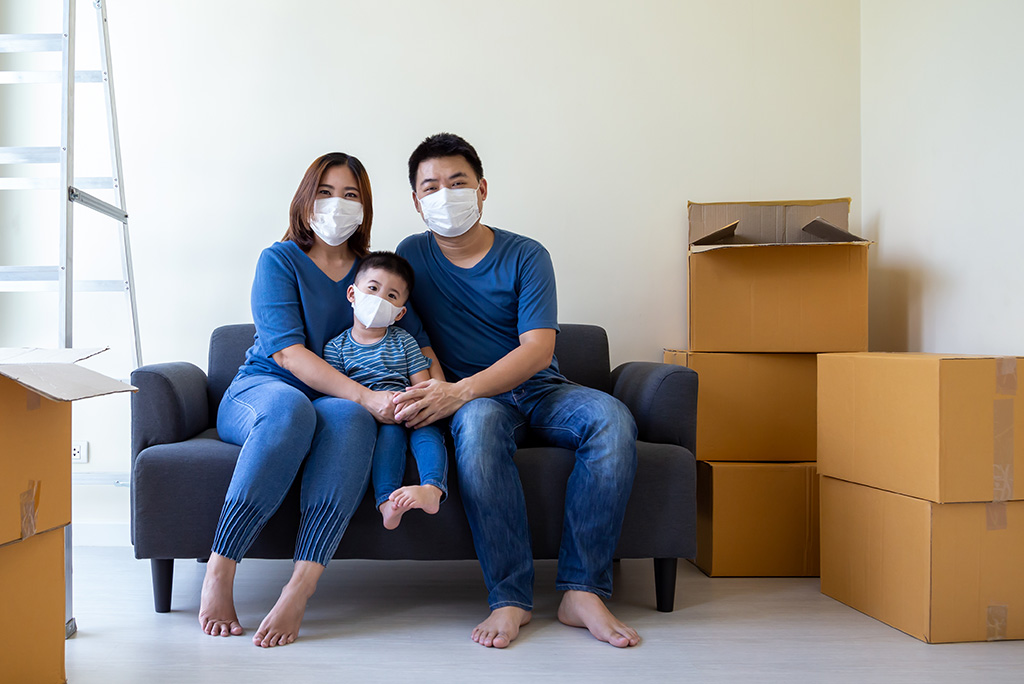 Maintaining Social Distancing While Moving