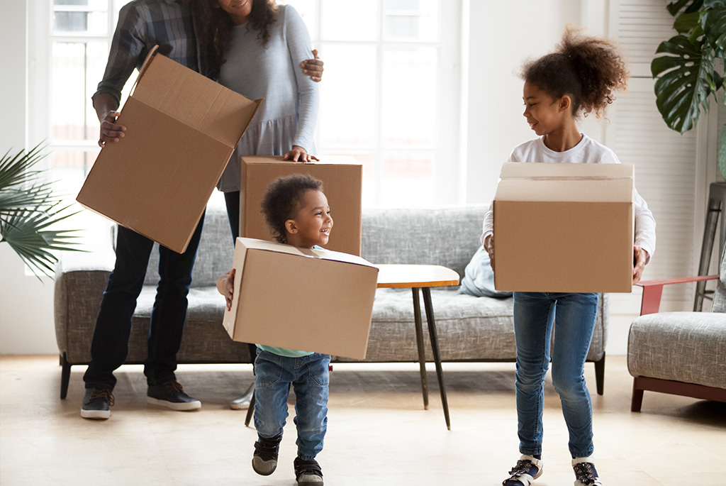 moving with toddler