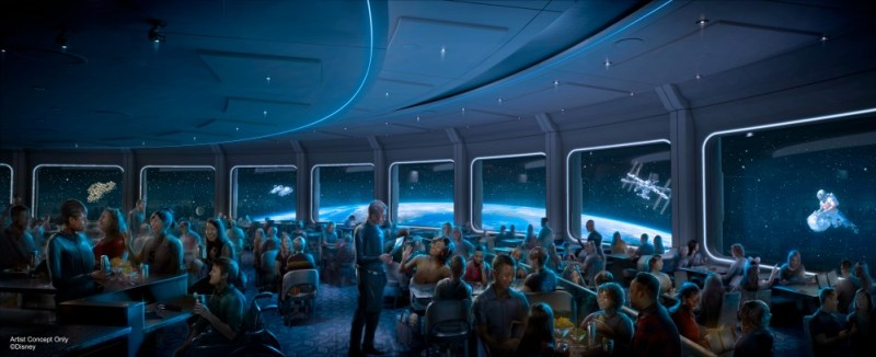 Space 220 restaurant at Epcot