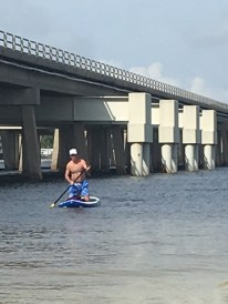 """It's called a """"Stand Up"""" paddle board, Mike..."""