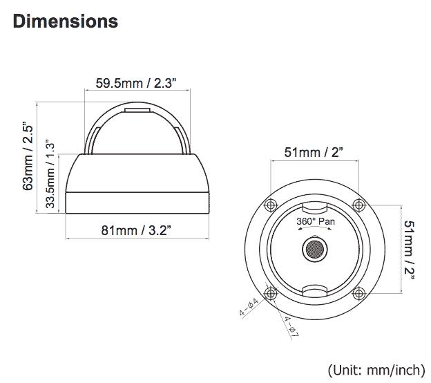 cctv dome camera wiring diagram