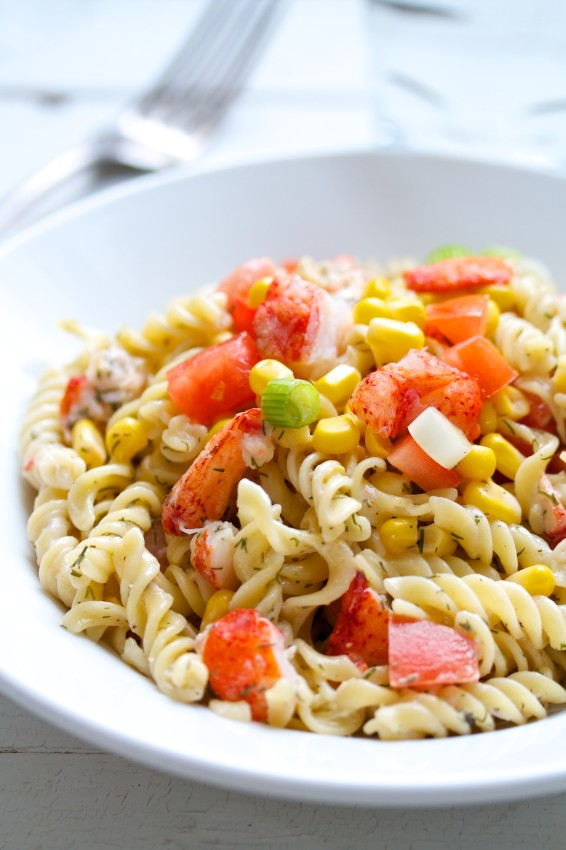lobster pasta salad   movita beaucoup