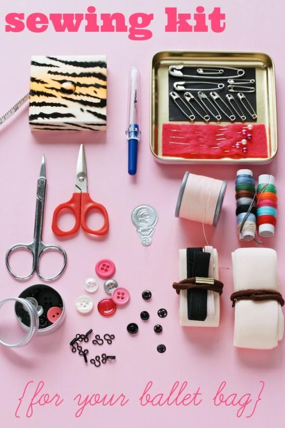 DIY ballet sewing kit | movita beaucoup