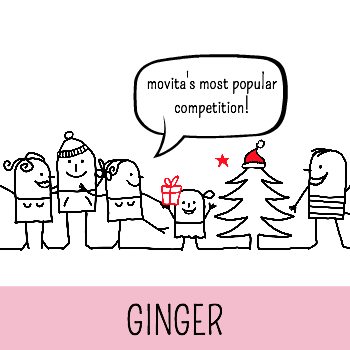 ginger // movita beaucoup's annual online gingerbread competition!