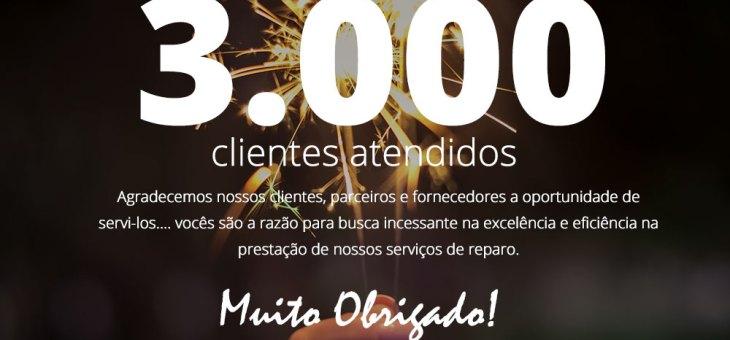 3.000 clientes