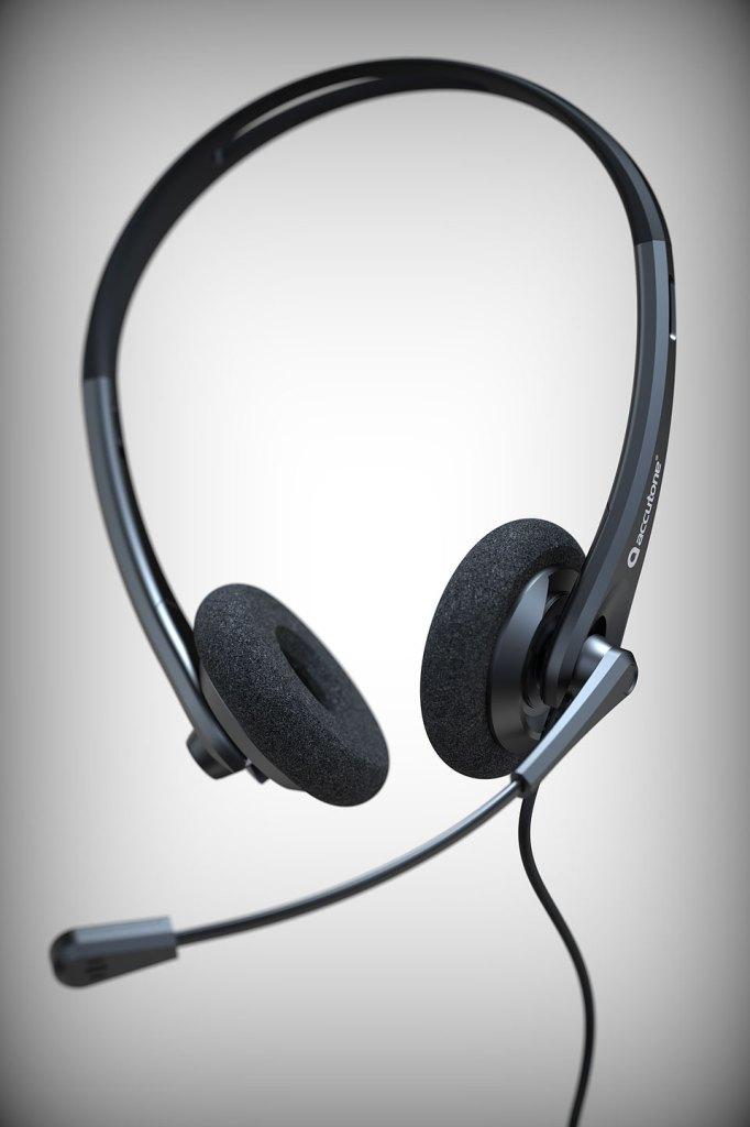headset accutone serie 200