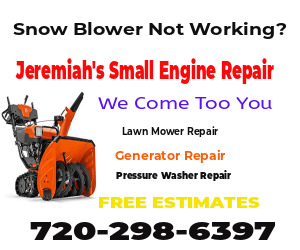 Lawn Mower Turn Over Repair Denver, CO
