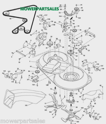 weed eater fuel line replacement diagram marine battery wiring ayp poulan weedeater mower deck belt fits 42 rear discharge lawnmower models 402009 169178 584897001