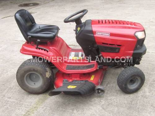 small resolution of craftsman model 247 203744 lawn tractor parts