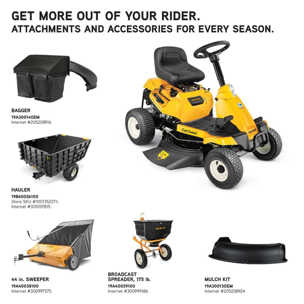 Cub Cadet CC30H Mower Accessories