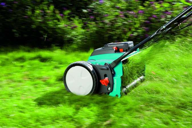 How to the reel mowers work