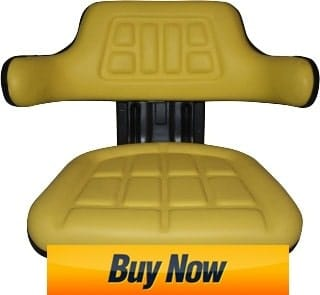 TRAC SEATS Yellow Suspension Tractor Seat