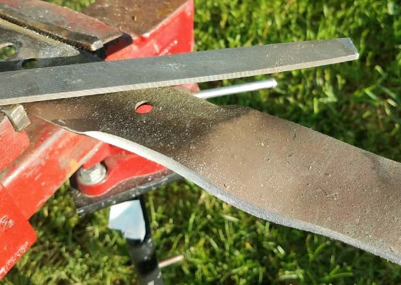 Best File For Sharpening Lawn Mower Blade