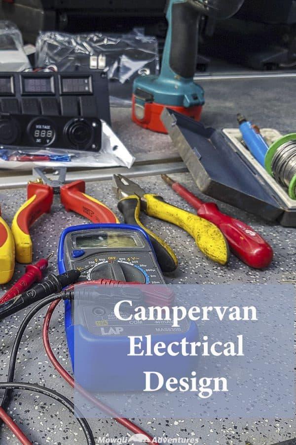 medium resolution of camper van electrical wiring