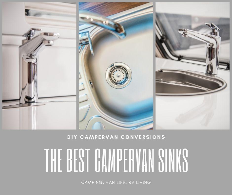 camper van sinks for vanlife kitchens