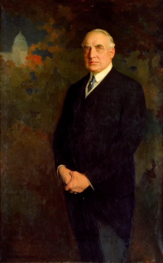 Warren Harding, Presidential Portrait