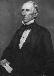 John Tyler circa 1850 Daguerreotype