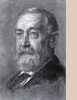 Sketch of Benjamin Harrison