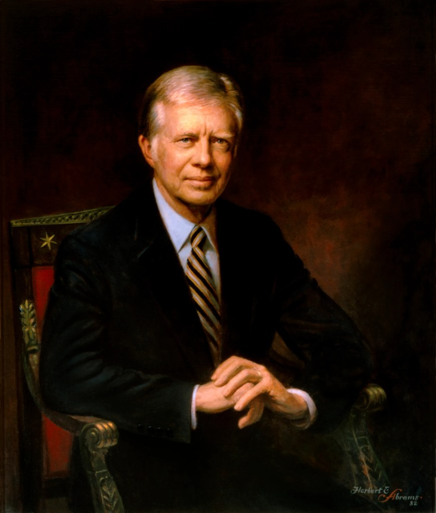 Jimmy Carter, officlal White House Presidential Portrait