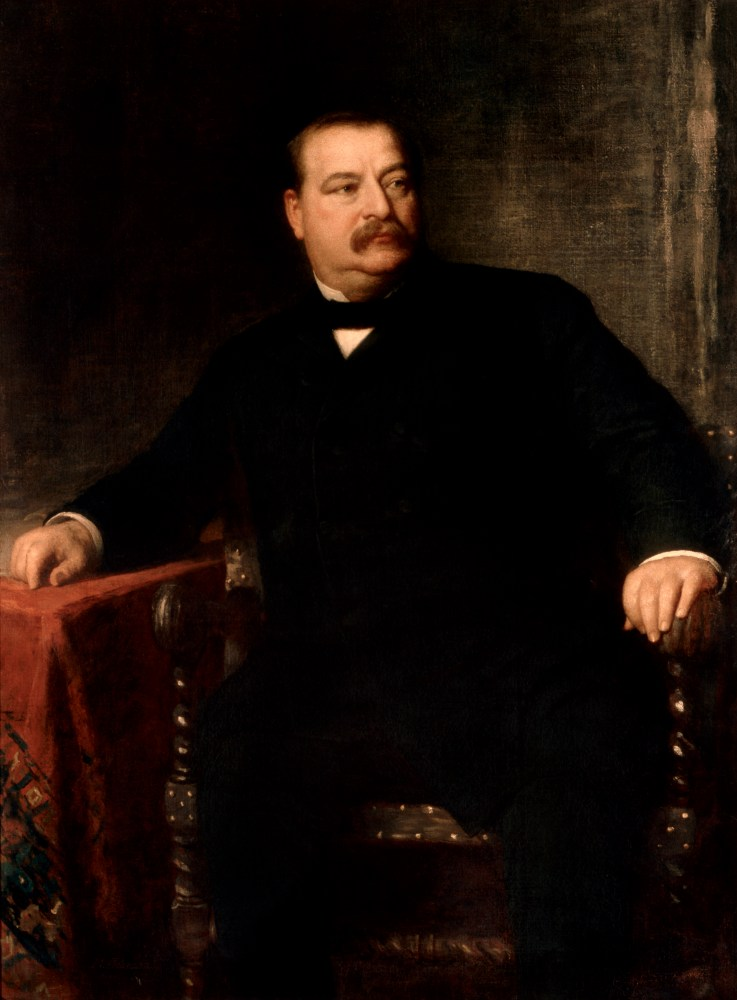 Grover Cleveland, Official White House Portrait